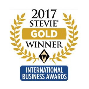 Stevie Gold Winner 2017