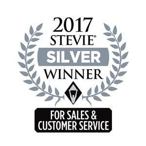 2017年スティービーアワードの銀賞受賞