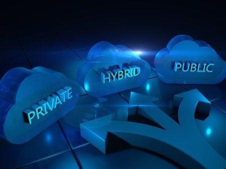 Nous prenons en charge différents types de cloud.