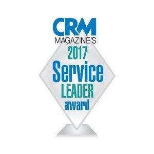 CRMマガジンの2017年「サービスリーダー賞」