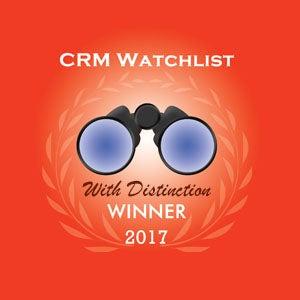 2017年「CRM ウォッチリスト」賞を受賞