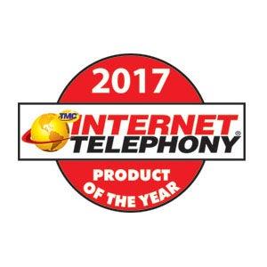 Internet Telephonyの2017年「年間最優秀製品賞」