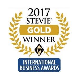 2017年スティービーアワードの金賞受賞